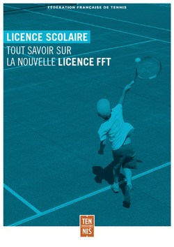 LICENCE SCOLAIRE